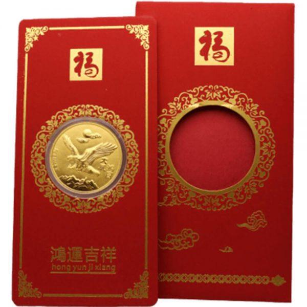 Bao Lì Xì Đại Bàng 0.2g Vàng 24k