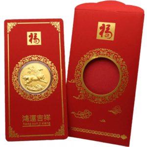 Bao Lì Xì Mã Đáo Thành Công 0.2g Vàng 24k