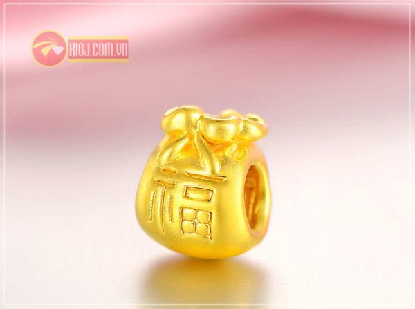 Charm vàng túi tiền 24k