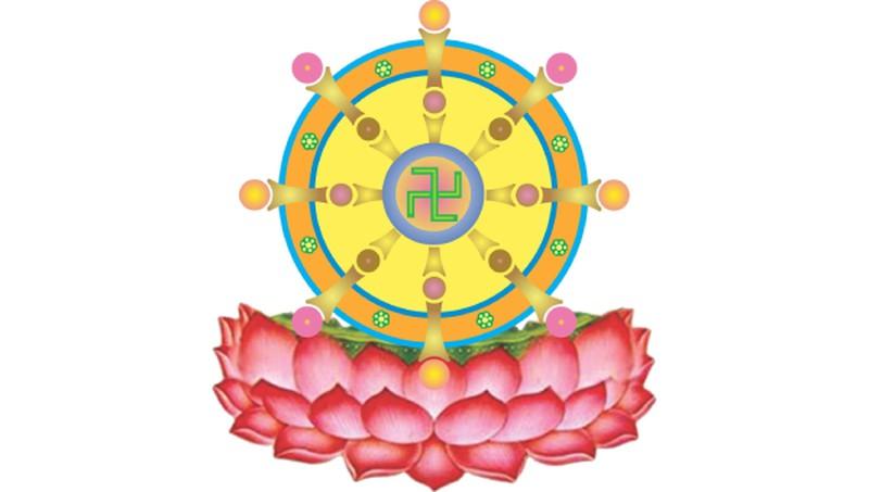 Hình tượng bánh xe lăn trong Phật giáo có ý nghĩa như thế nào ...